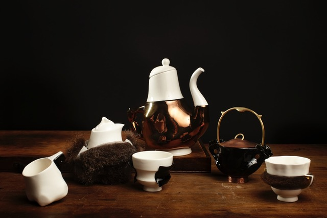 , 'Broached Colonial Briggs Family Tea Service,' 2013, Gallery ALL