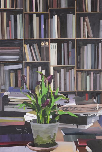 , 'The Exact Distance Between Flower and Bookshelf I,' 2017, Hans Alf Gallery