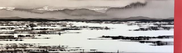 , 'Flooded Salt Lake, China and I,' 2019, Art Atrium