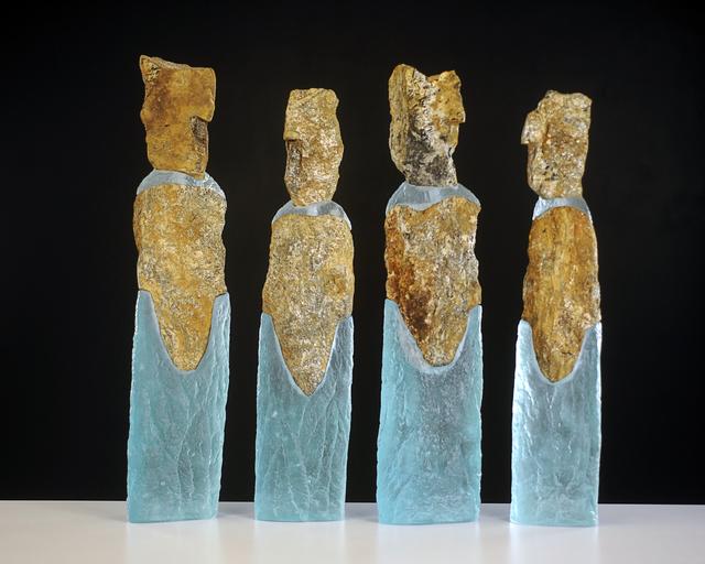 , 'Companions #1,2,3,4,' 2015, Ken Saunders Gallery
