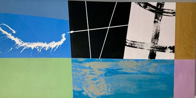 Cathleen Hughes, 'Untitled 6', 2021, Painting, Acrylic on canvas, InLiquid