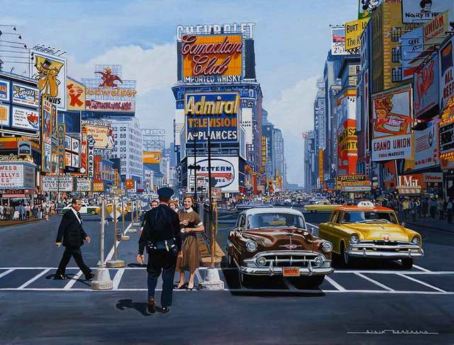 , 'Times Square 1955,' , Catto Gallery