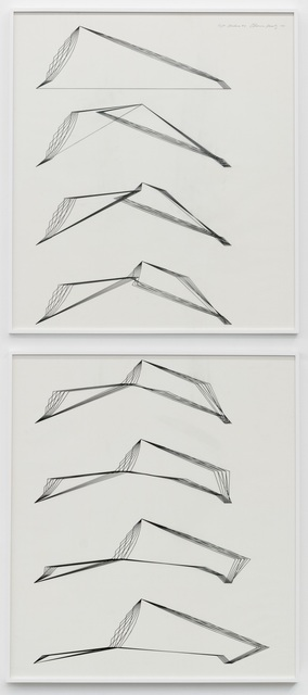 , 'Eight Structures #3,' 1980, François Ghebaly