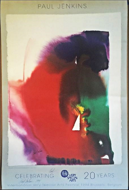 , 'INTERNATIONAL VERY SPECIAL ARTS FESTIVAL POSTER (Signed and Inscribed),' 1994, Alpha 137 Gallery
