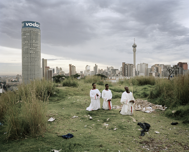 , 'Cleaning the Core, Ponte City, Johannesburg,' 2008, Louisiana Museum of Modern Art
