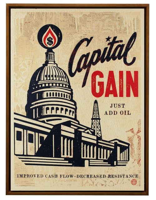 , 'Capital Gain,' 2016, Subliminal Projects