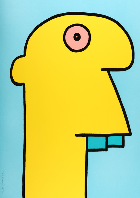 Thierry Noir, 'Yellow Head', 2015, Chiswick Auctions