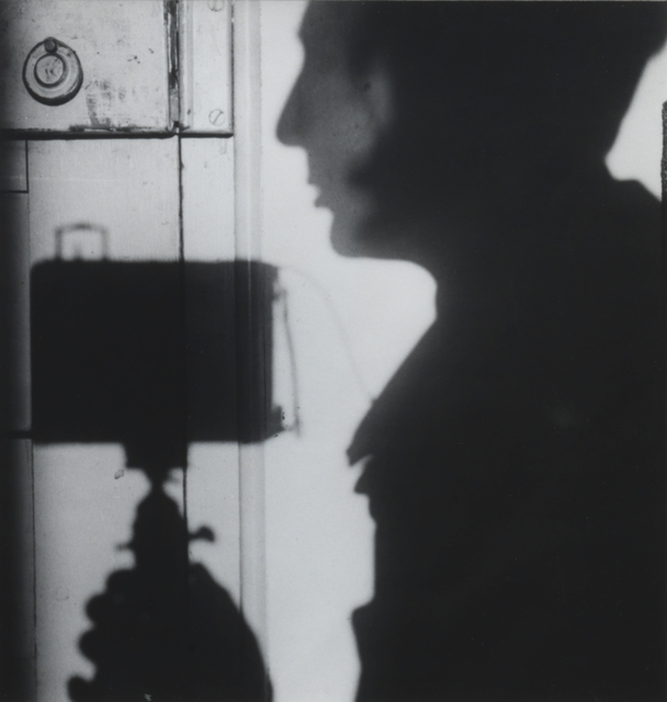 , 'Self Portrait, Paris 1927,' 1970s gelatin silver print from a 1927 negative, Annely Juda Fine Art