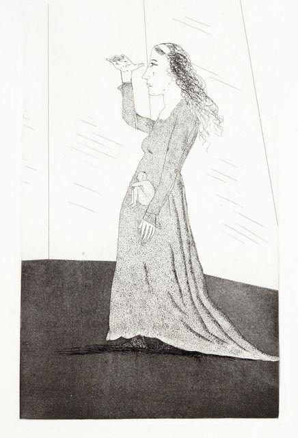 David Hockney, 'The Princess Searching [Tokyo 71]', 1969, Roseberys