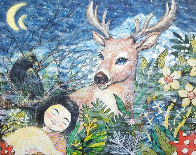 , 'Fantasy Jejuisland- Wind island girl story,' 2017, galerie bruno massa