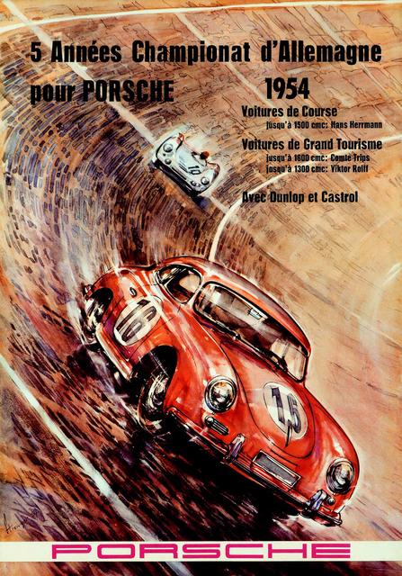 , 'Porsche Five Year Champion 1954 ,' 1954, Omnibus Gallery