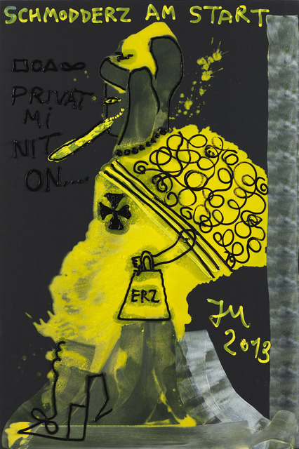 """, '"""" """"PRIVATRELIGIONT"""" MICH NICHT AN, ES FRUCHTET EH NICHT..."""",' 2013, Tim Van Laere Gallery"""