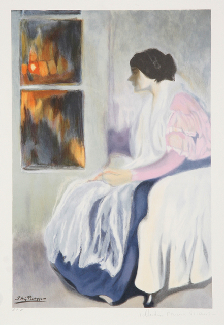 Pablo Picasso, 'La Soeur de l'Artiste, 1899', 1979-1982, RoGallery