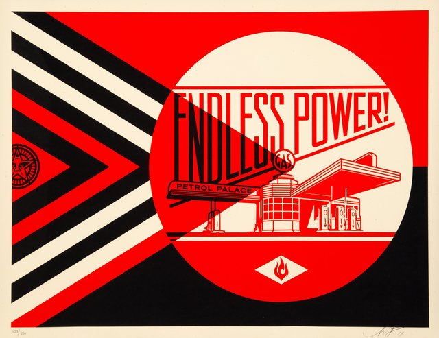 Shepard Fairey, 'Endless Power Patrol Palace (Red)', 2019, Heritage Auctions