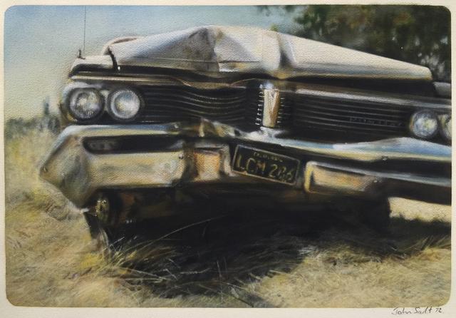 John Salt, 'Destroyed Pontiac (Frontal View)', 1972, Jonathan Novak Contemporary Art