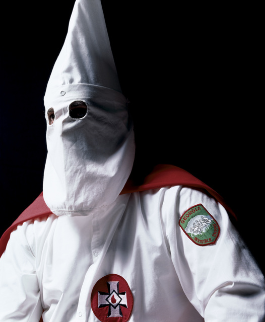 , 'Klansman, Great Titan of the Invisible Empire III (The Klan),' 1990, Galerie Nathalie Obadia