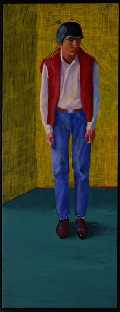 , 'Portrait of Yves Marie Hervé,' 1980, Galerie Hans Mayer