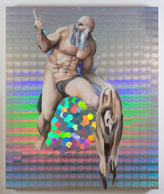 Jeanette Hayes, 'St. Bartholomew displaying his flayed skin', 2016, The Untitled Space