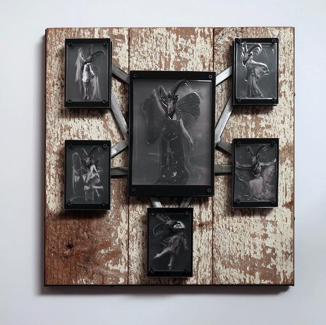 , 'The Lark Queen & Her Minions,' 2018, Joshua Tree Art Gallery