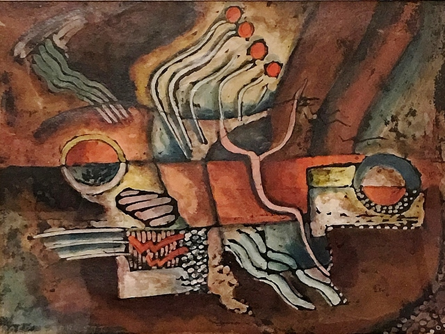 , 'Modern Composition #6,' ca. 1920, Lawrence Fine Art