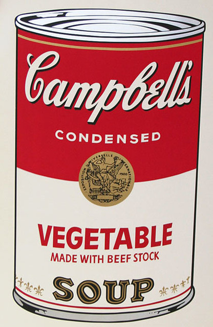 Andy Warhol, 'Campbell's Soup I, II.48 Vegetable Made with Beef Stock', 1968, Print, Color screenprint, Elizabeth Clement Fine Art