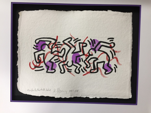 , 'Mouton Rothschild Label,' 1987, Rosenfeld Gallery LLC