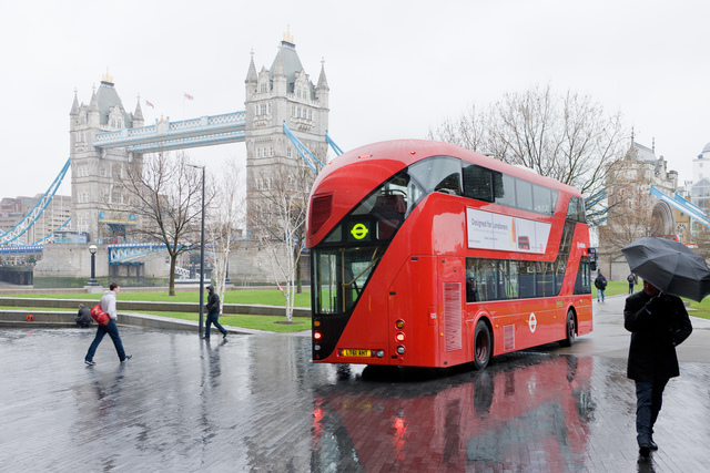 , 'New Bus for London,' 2010-2012, Nasher Sculpture Center