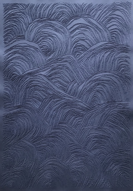 Antonin Anzil, 'Navy Blue #1', 2019, Muriel Guépin Gallery