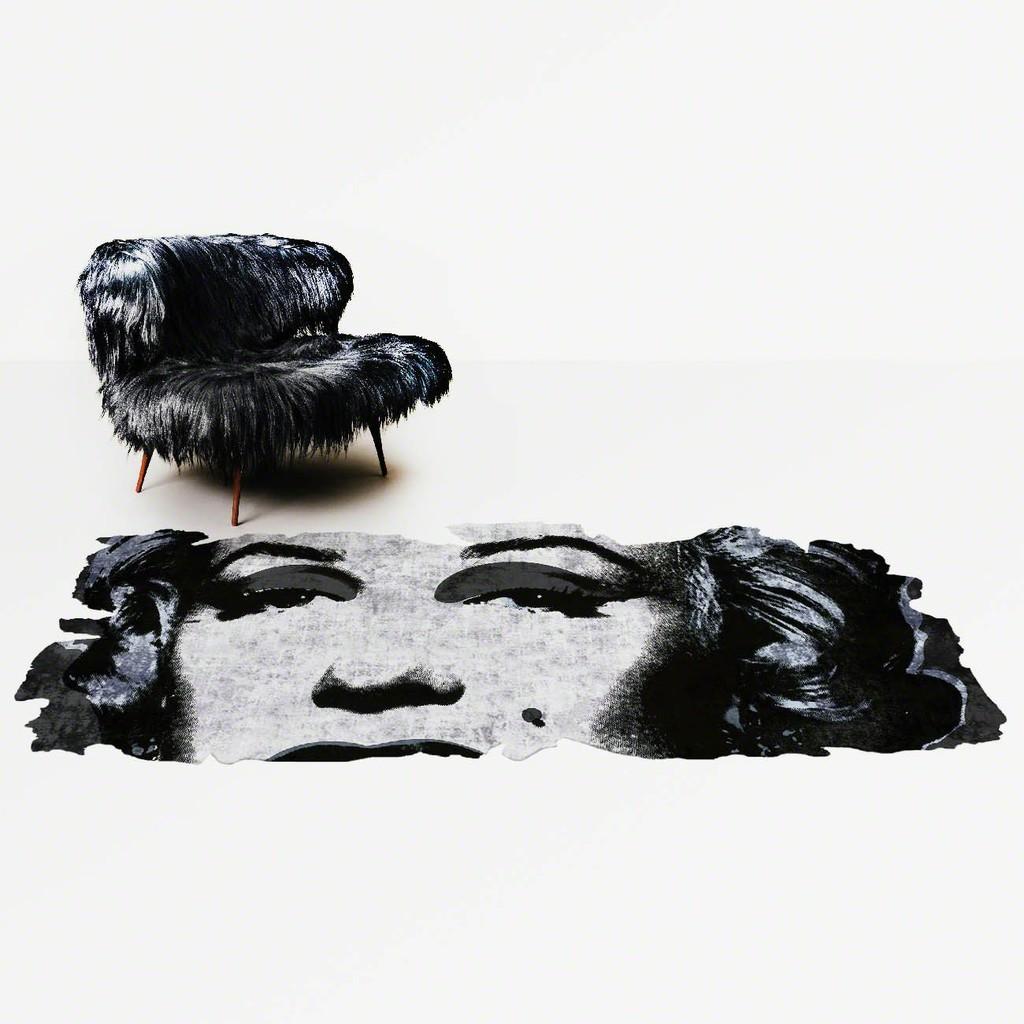 Andy Warhol, Marilyn, 1967, Barivierra Ice Cut Edit, PR031C, Design by Calle Henzel, 2015