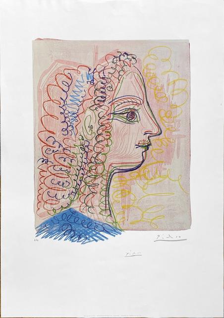 Pablo Picasso, 'Femme de profil (Francoise)', 1970, Fairhead Fine Art Limited