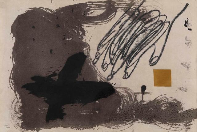 Antoni Tàpies, 'Galerìa Joan Prat', 1989, Cambi