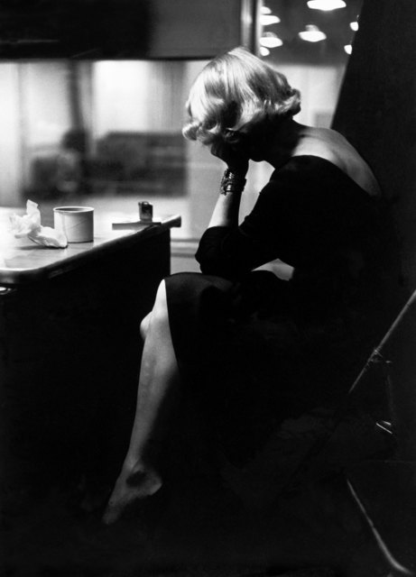 , 'Marlene DIETRICH at the recording studios of COLUMBIA RECORDS. New York City. USA. ,' 1952, Magnum Photos