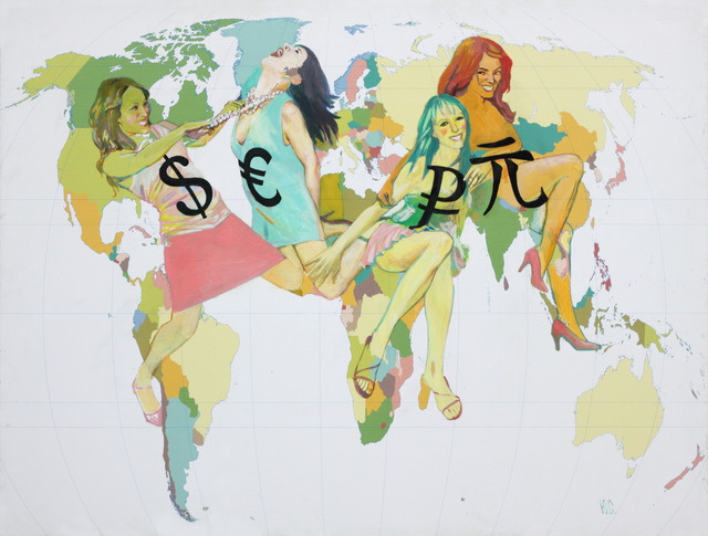 , 'Global Currency,' 2016, Voloshyn Gallery