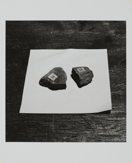 , 'Two Mineral Samples on Table,' 1975/2008, Taka Ishii Gallery