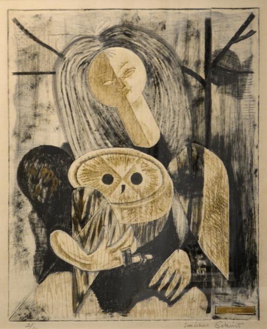 , 'Girl Holding Owl,' ca. 1960, Ronin Gallery