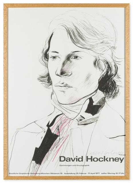 David Hockney, 'Poster for the Staatliche Graphische Sammlung, Munich', 1977, Forum Auctions