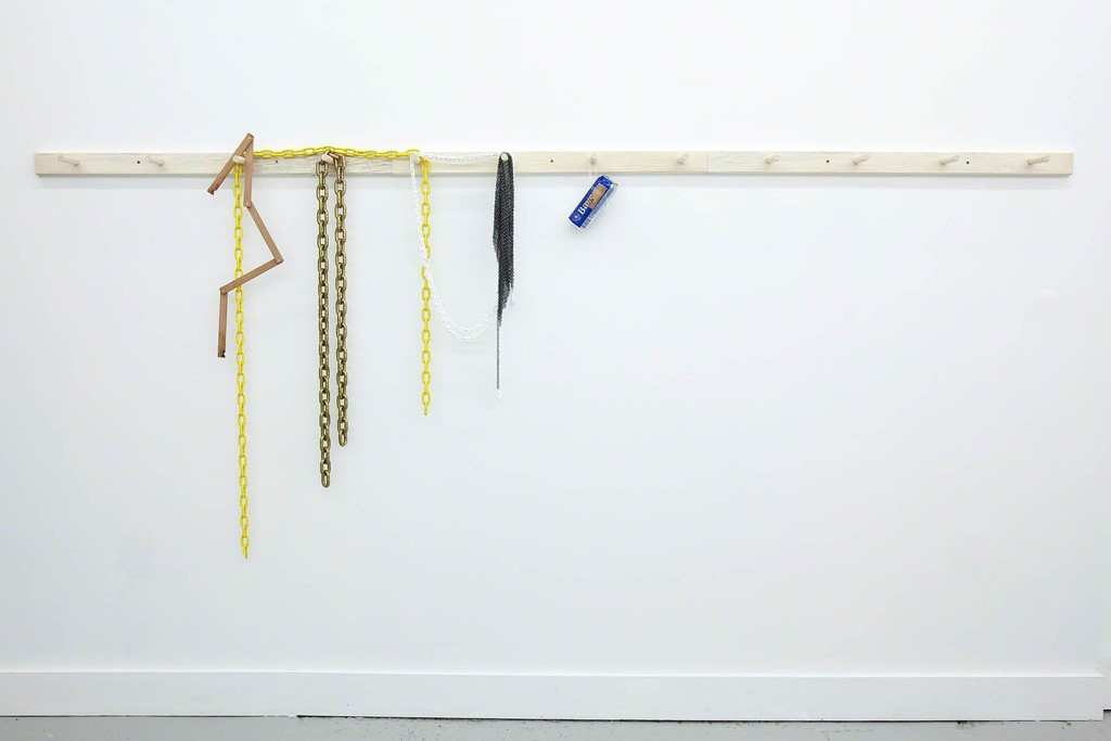 Derek Sullivan, 'Peg Rail #6 (You were right...),' 2012, Galerie Emmanuel Hervé