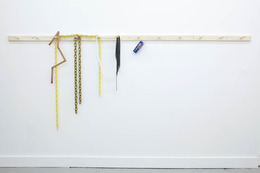 , 'Peg Rail #6 (You were right...),' 2012, Galerie Emmanuel Hervé
