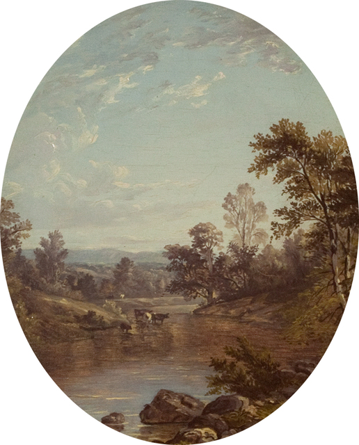 , 'View to the Catskills,' 1850, Questroyal Fine Art