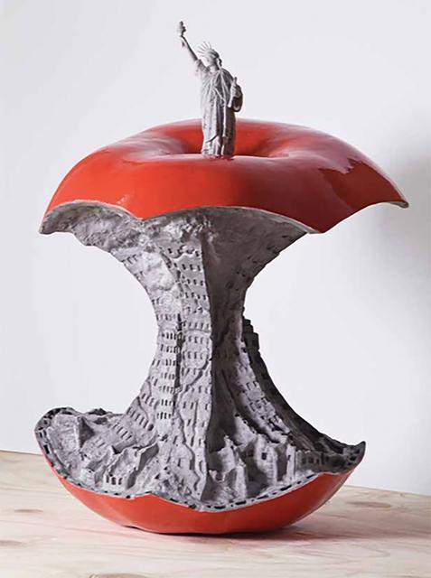 , 'The Big Apple,' 2018, Treason Gallery
