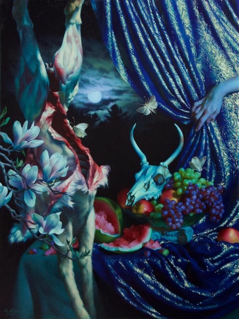 , 'Buck Moon,' , RJD Gallery