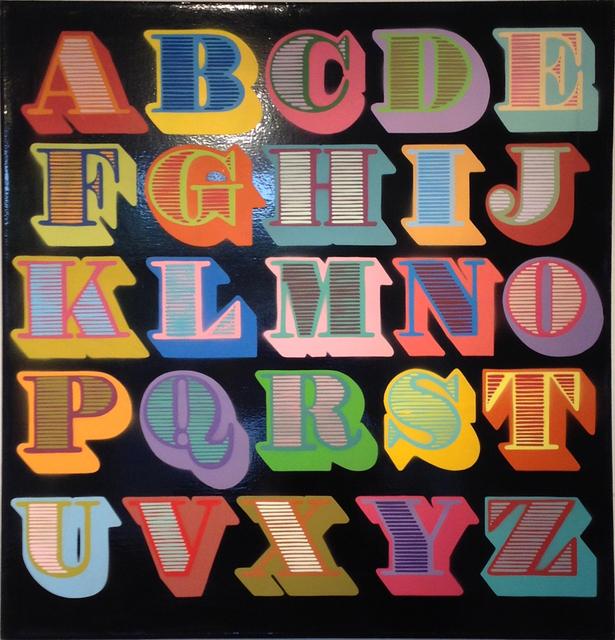 , 'A - Z black (shutter font),' , MUCA