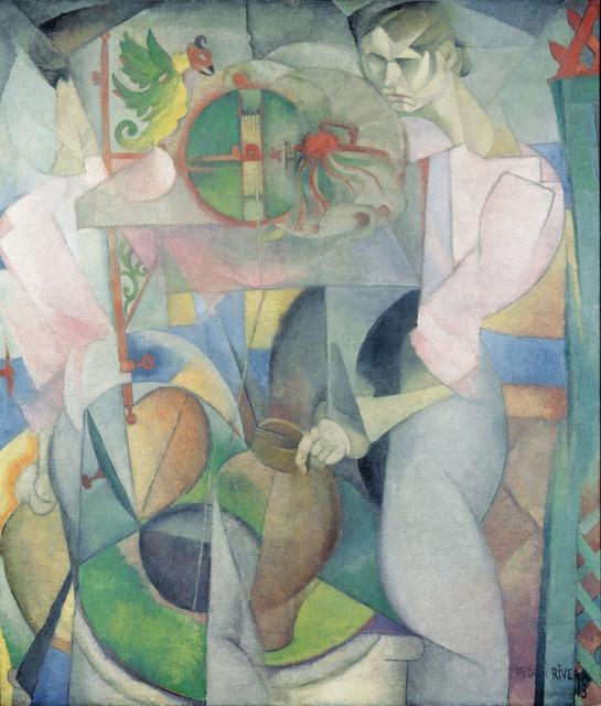 Diego Rivera, 'La mujer del pozo ', 1913, Museo Nacional de Arte (MUNAL)