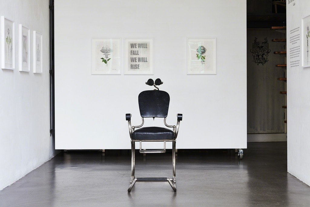 Ludo, 'The Ten Commitments' installation view at The Garage, Amsterdam.