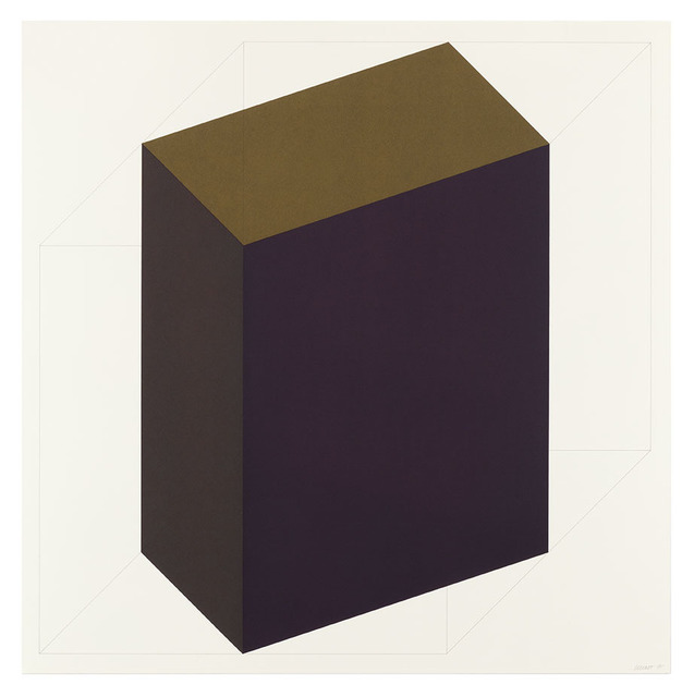Sol LeWitt, 'Forms Derived from a Cube (Colors Superimposed) 7', 1991, Alan Cristea Gallery