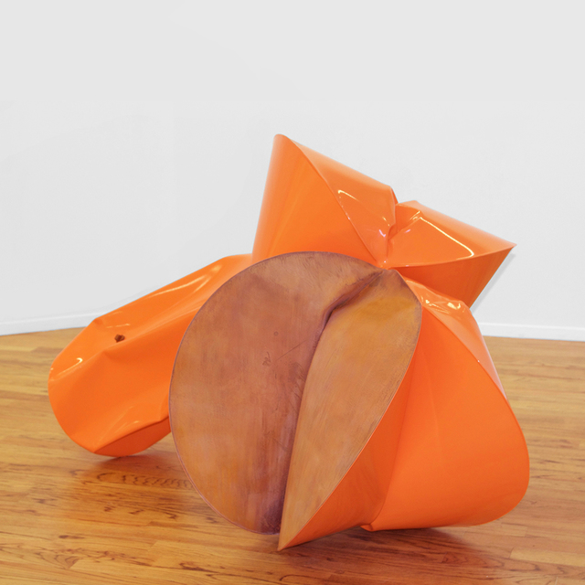 , 'Vivant Orange,' 2016, Galerie Richard
