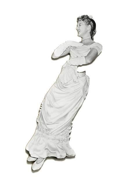 , 'Ingrid (Leaning Board VI),' 2013, Cob