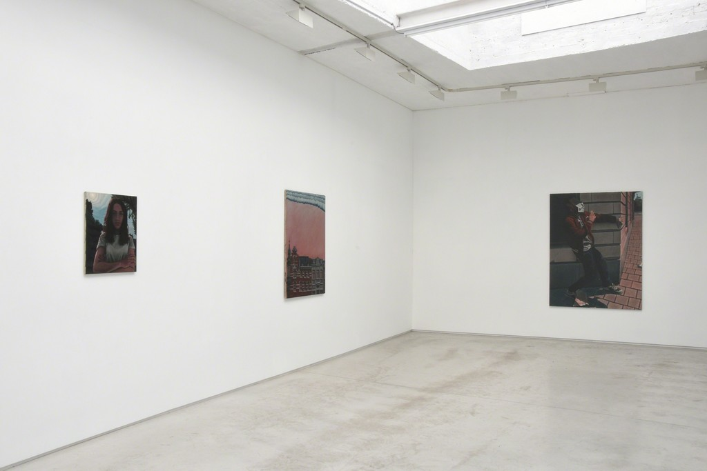 exhibition shot 'The clouds have gathered' by Bendt Eyckermans
