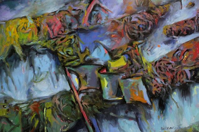 Fabian Marcaccio, 'Flag', 1988, Robert Berman Gallery