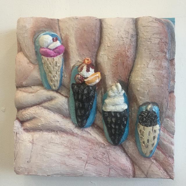 , 'Ice Cream Nails,' 2017, Galerie Kornfeld